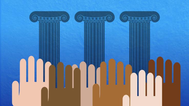 Brasil é uma democracia ou ditadura? Crédito da foto: Techcrunch