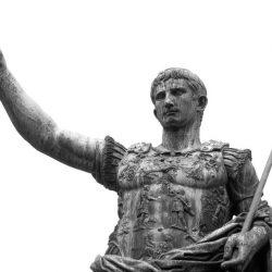Quem foi Cesar Augustus, também conhecido como Octaviano, e qual sua importância na história da democracia.